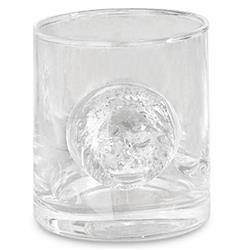 Leo Hollywood Regency Hand Blown Glasses - Set of 4