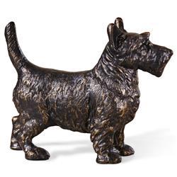 Angus Hollywood Regency Bronze Scottie Sculpture
