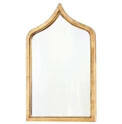 Putrajaya Global Bazaar Gold Frame Wall Mirror - 36H