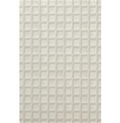 Trompe L'oeil Wood Panel Wallpaper - White - 2 Rolls