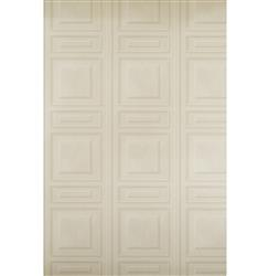 French Wood Moulding Panel Wallpaper - Bone - 2 Rolls