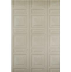 French Wood Moulding Panel Wallpaper - Taupe - 2 Rolls