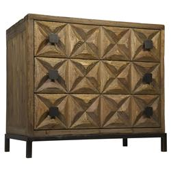 Bindy Global Bazaar Reclaimed Wood 3-Drawer Dresser