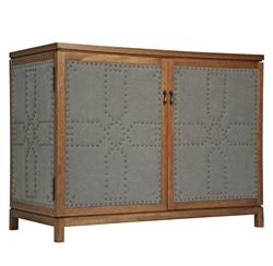 Birger Industrial Loft Wood Linen Sideboard