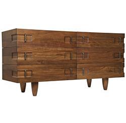 Radley Industrial Loft Modern Wood Metal Sideboard Dresser