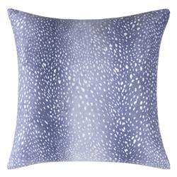 Carmila Global Bazaar Blue Feather Down Decorative Pillow - 18x18