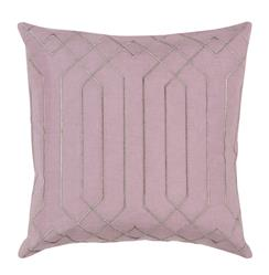 Jillian Hollywood Regency Linen Down Pink Pillow - 18x18