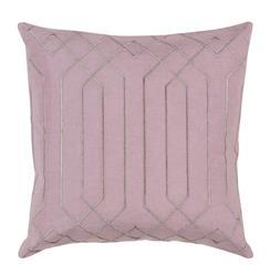 Jillian Hollywood Regency Linen Down Pink Pillow - 18x18