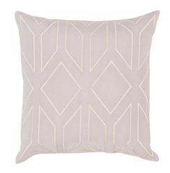 Angelina Hollywood Regency Linen Down Light Grey Pillow - 20x20