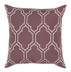 Keira Hollywood Regency Linen Down Brown Pillow - 18x18
