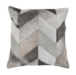 Dakota Rustic Lodge Chevron Hair on Hide Pillow - 22x22