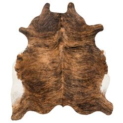 Shiraz Global Bazaar Brown Brindle Cowhide Rug