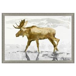 Moose Reflections Silver Matte