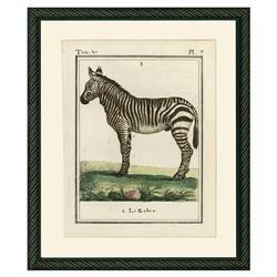 Smith & Co Rustic Lodge Zebra 1786 Print