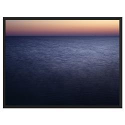 Open Water Photograph Matte Black Frame - 32x24
