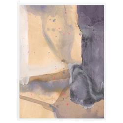 Desert Ridge Matte White Frame - 24x32