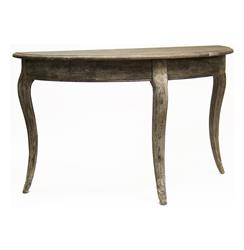 Maison French Country Demi Lune Console Table