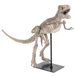 T-Rex Full Body Mount Replica Large Black Tabletop Sculpture - Small | ZEN-SHI011