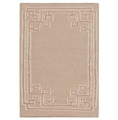 Lockhart Hollywood Regency Warm Light Grey Hand Woven Wool Rug - 2x3