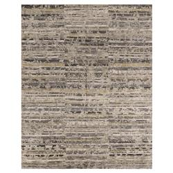 Adel Modern Canyon Silver Slate Fluid Stripe Rug - 5'6x8'6 | Kathy Kuo Home