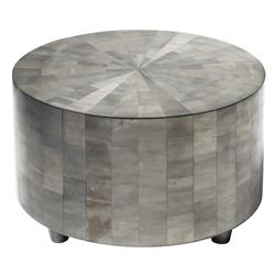 Adeline Oly Grey Mosaic Coffee Table | Kathy Kuo Home