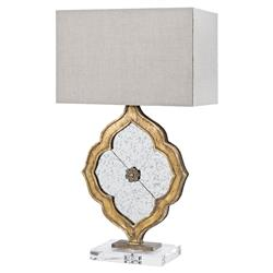 Amadour French Country Modern Antique Ornament Lamp | Kathy Kuo Home