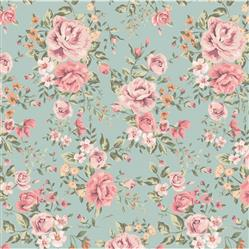 Anewall Cutesie Modern Classic Vintage Floral Wallpaper | Kathy Kuo Home