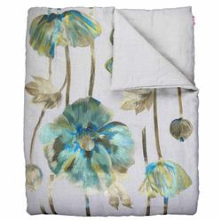 Ann Gish Regency Opium Throw - Queen | Kathy Kuo Home