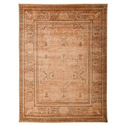 Auden French Bazaar Rust Dusty Coral Wool Rug - 9 x 12 | Kathy Kuo Home