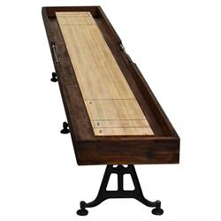 Barron Industrial Loft Shuffleboard Game Table | Kathy Kuo Home