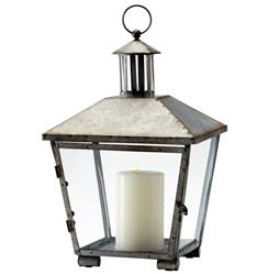 Bengal Global Bazaar Rustic Iron Candle Lantern | Kathy Kuo Home