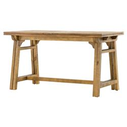 Benson Reclaimed Pine Extension Bar Dining Table | Kathy Kuo Home