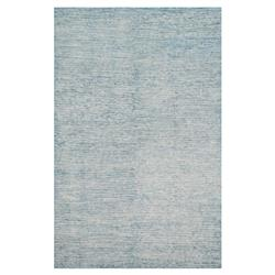 Blair Regency Light Blue Bamboo Silk Rug - 4x6 | Kathy Kuo Home