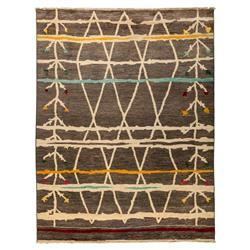 Briar Mountain Moroccan Muted Brights Wool Rug - 8 x 9'10 | Kathy Kuo Home