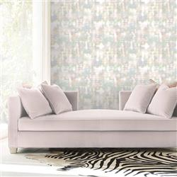 Bright Lights Modern Classic Color Blend Removable Wallpaper | Kathy Kuo Home