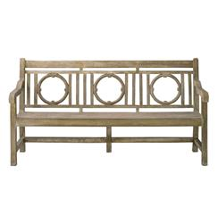 Classic English Garden Outdoor Lesgrave Bench | Kathy Kuo Home