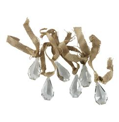 Clear Crystal Country Chandelier Drop Accessories - 12 | Kathy Kuo Home