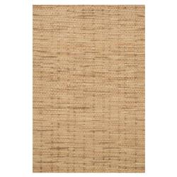 Coastal Knotted Natural Jute Rug - 3'6x5'6 | Kathy Kuo Home