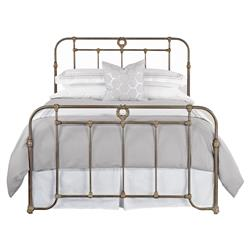 Corse French Country Detailed Iron Bed - Queen | Kathy Kuo Home