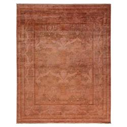 Cosima Washed Beige Rose Floral Wool Rug - 7'10 x 9'9 | Kathy Kuo Home