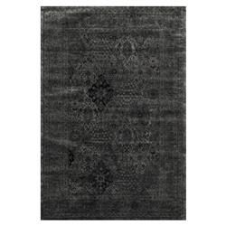 Dahlia Regency Midnight Iron Traditional Rug - 3'3x5'3 | Kathy Kuo Home