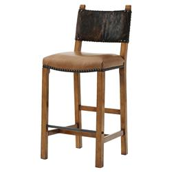 Directoru0027s Chair Rustic Lodge Hide Seat Back Hurlingham Leather Seat Bar Stool | Kathy Kuo Home  sc 1 st  Kathy Kuo Home & Designer Bar u0026 Counter Stools - Eclectic Bar u0026 Counter Stools ... islam-shia.org
