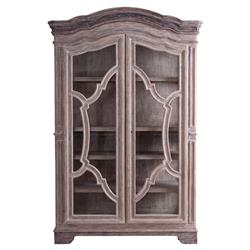Dupont French Country Rustic Wood Wardrobe Cabinet | Kathy Kuo Home