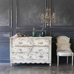 Eloquence® Antique Commode with Three Drawers: 1820 | Kathy Kuo Home