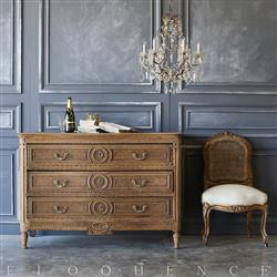 Eloquence® Antique French Louis XVI Commode: 1820 | Kathy Kuo Home