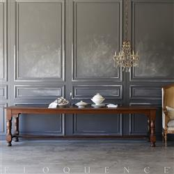 Eloquence® Antique French Monastery Table: 1880 | Kathy Kuo Home