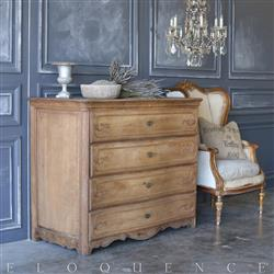 Eloquence® Antique Louis XV Large Commode | Kathy Kuo Home