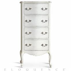 Eloquence® Clementine Chest in Antique White | Kathy Kuo Home