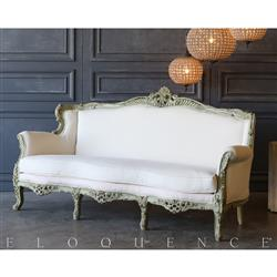 Eloquence® Dark Mint Vintage Daybed: 1940 | Kathy Kuo Home