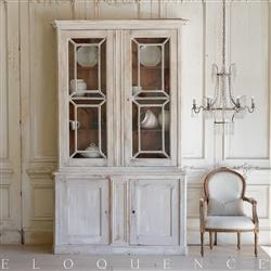 Eloquence French Country Style Antique Cabinet | Kathy Kuo Home